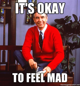 Oh Mister Rogers, if only I could quit you.