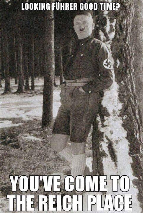 What if it's Hitler, huh? Is it still rape then, Godwin? Well is it??