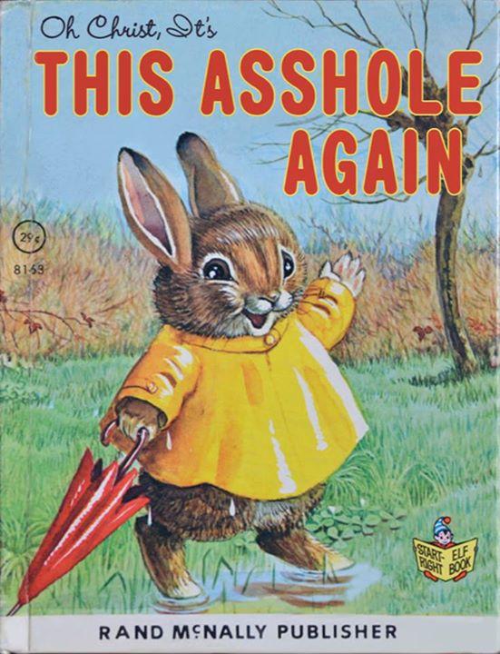 MRA Bunny? Nooooooo!