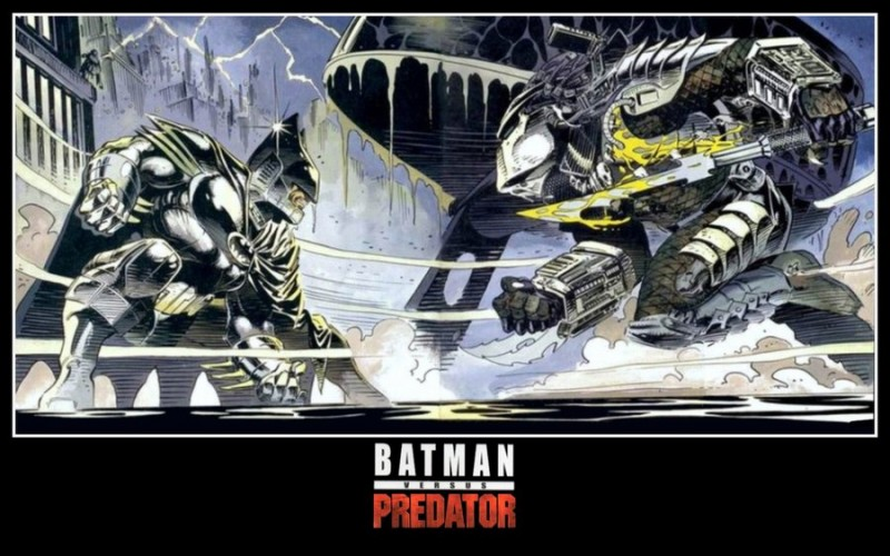 Batman versus Predator is one of my favourite graphic novels because it stays true to both characters in spite of the genre clash.